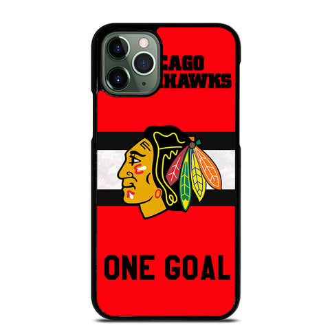 CHICAGO BLACKHAWKS ONE GOAL 2 iPhone 11 Pro Max Case