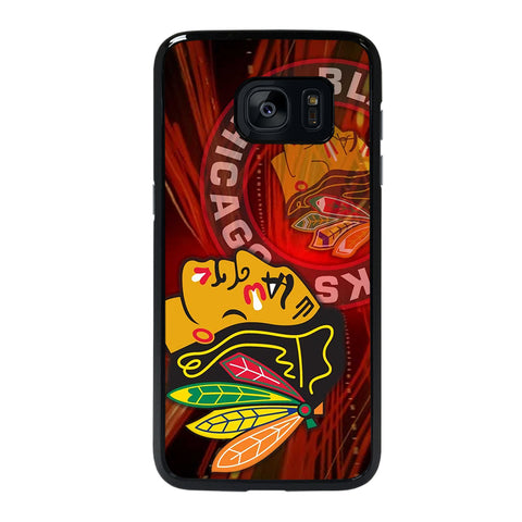 CHICAGO BLACK HAWKS Samsung S7 Edge Case