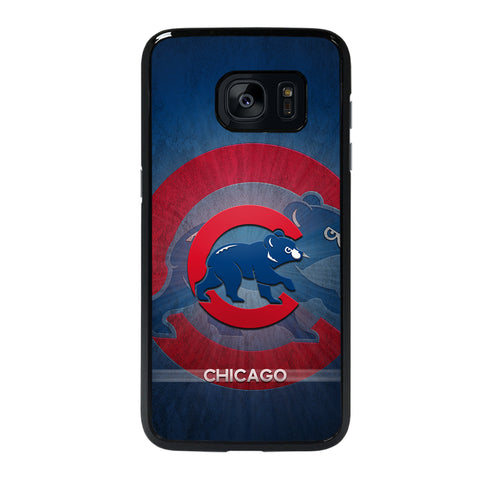 CHICAGO CUBS 3 Samsung S7 Edge Case