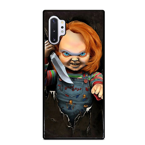 CHUCKY SCARY DOLL 3 Samsung Note 10 Plus Case