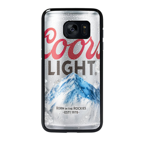 COORS LIGHT BEER Samsung S7 Edge Case