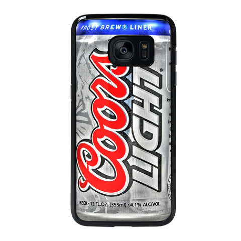 COORS LIGHT BEER 2 Samsung S7 Edge Case