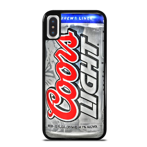 COORS LIGHT BEER 2 iPhone X / XS Case