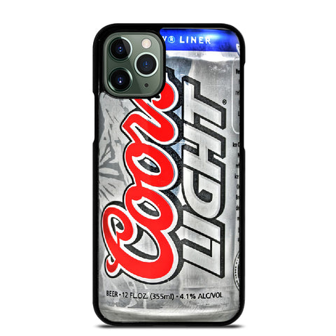 COORS LIGHT BEER 2 iPhone 11 Pro Max Case