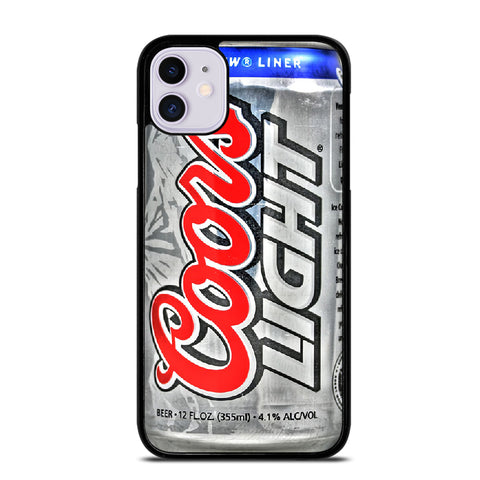 COORS LIGHT BEER 2 iPhone 11 Case
