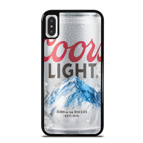 COORS LIGHT BEER iPhone X / XS Case