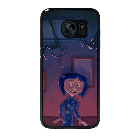CORALINE CARTOON 4 Samsung S7 Edge Case