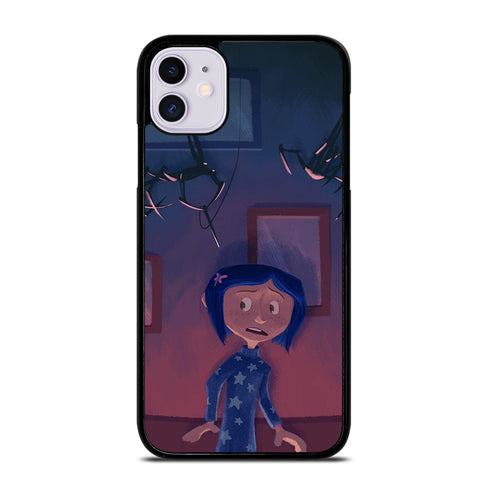 CORALINE CARTOON 4 iPhone 11 Case