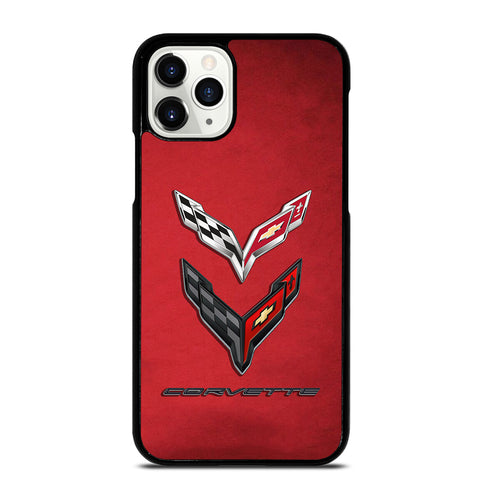 CORVETTE STINGRAY C7 C8 LOGO #2 iPhone 11 Pro Case