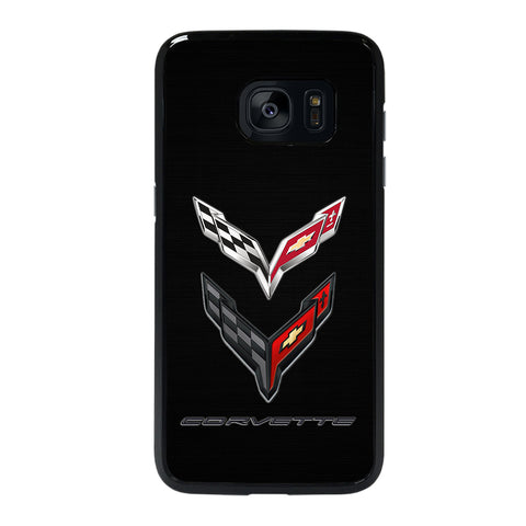 CORVETTE STINGRAY C7 C8 LOGO Samsung S7 Edge Case