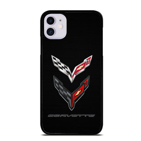 CORVETTE STINGRAY C7 C8 LOGO iPhone 11 Case