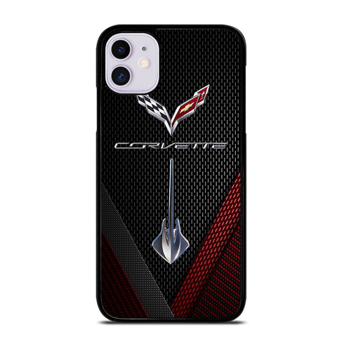 CORVETTE STINGRAY C7 CARBON iPhone 11 Case