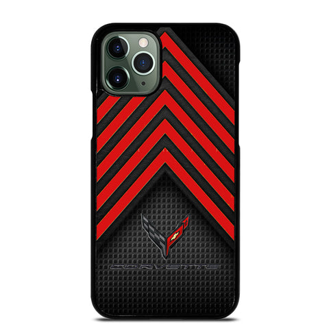 CORVETTE STINGRAY C8 LOGO 2 iPhone 11 Pro Max Case