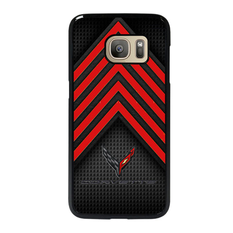 CORVETTE STINGRAY C8 LOGO 2 Samsung S7 Case