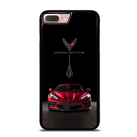CORVETTE STINGRAY C8 RED CAR iPhone 7 / 8 Plus Case