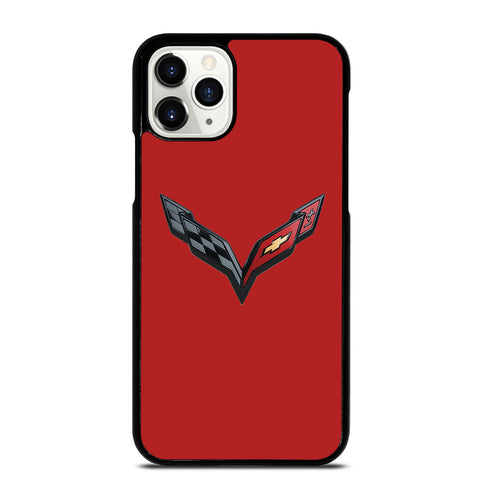 CORVETTE STINGRAY CHEVY RED iPhone 11 Pro Case