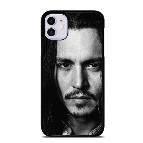 CUTE JOHNNY DEPP ACTOR  3 iPhone 11 Case
