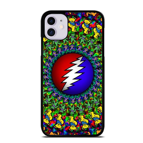 DANCING BEARS GRATEFUL DEAD 2 iPhone 11 Case