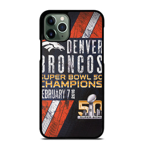 DENVER BRONCOS 50 2 iPhone 11 Pro Max Case