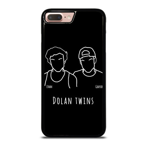 DOLAN TWINS CARTOON DRAWING iPhone 7 / 8 Plus Case