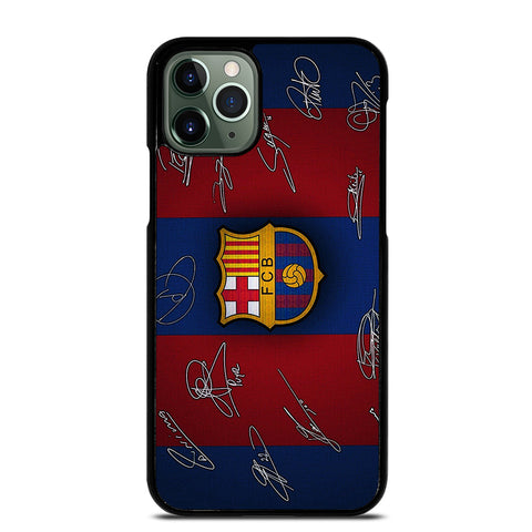 FC BARCELONA SIGNATURE iPhone 11 Pro Max Case