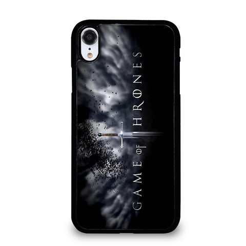 GAME OF THRONES LOGO iPhone XR Case