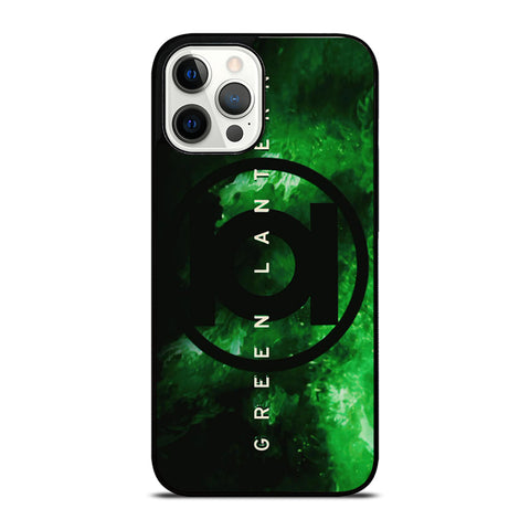 GREEN LANTERN SUPER HERO LOGO 2 iPhone 12 Pro Max Case