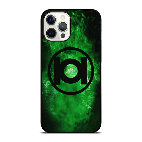 GREEN LANTERN SUPER HERO LOGO 3 iPhone 12 Pro Max Case