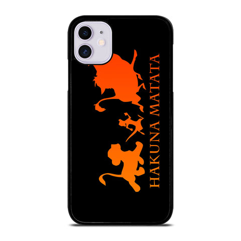 HAKUNA MATATA LION KING Disney 2 iPhone 11 Case