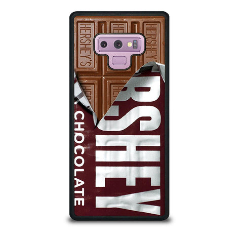 HERSHEY UNWRAPPED CHOCOLATE BAR Samsung Note 9 Case