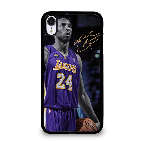 KOBE BRYANT 24 LA LAKERS iPhone XR Case