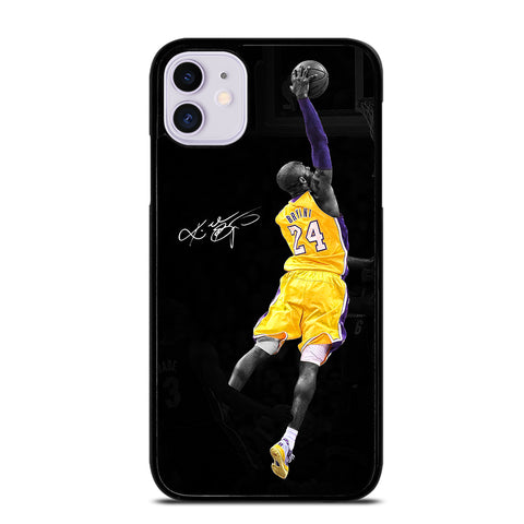 KOBE BRYANT 24 LA LAKERS 4 iPhone 11 Case