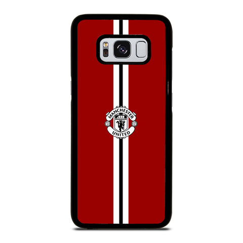 MANCHESTER UNITED RED 3 Samsung S8 Case