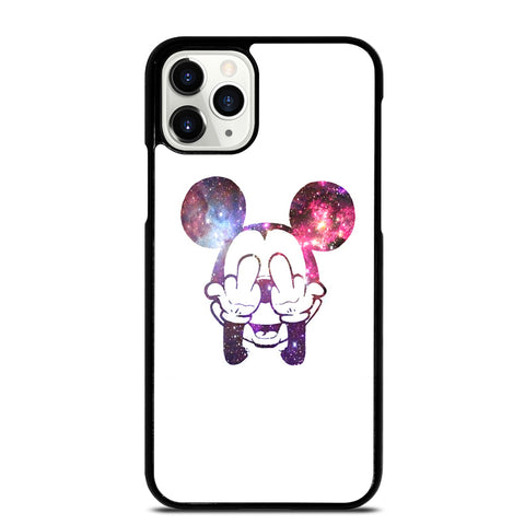 MICKEY MOUSE MIDDLE FINGER 2 iPhone 11 Pro Case