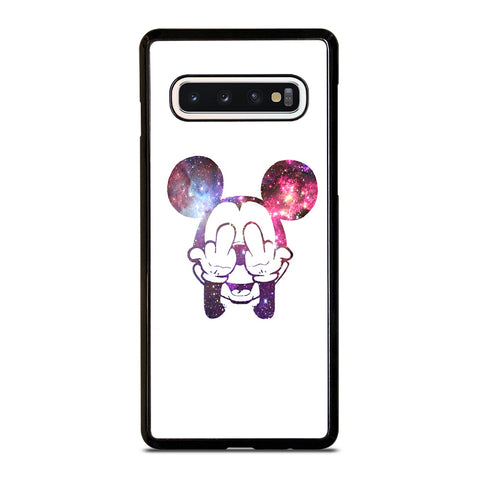 MICKEY MOUSE MIDDLE FINGER 2 Samsung S10 Case