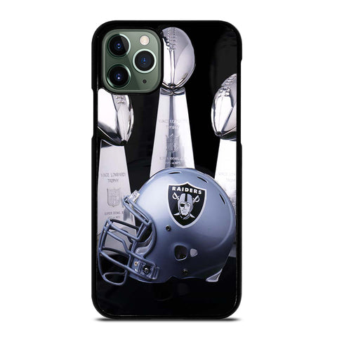 OAKLAND RAIDERS LOMBARDI TROPHIES iPhone 11 Pro Max Case