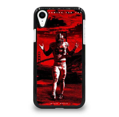 SAN FRANCISCO 49ERS NICK BOSA iPhone XR Case