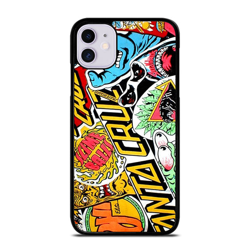 SANTA CRUZ SKATEBOARDS 2 iPhone 11 Case