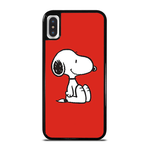SNOOPY PEANUTS iPhone X / XS Case