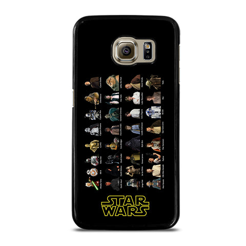 STAR WARS CHARACTERS Samsung S6 Case
