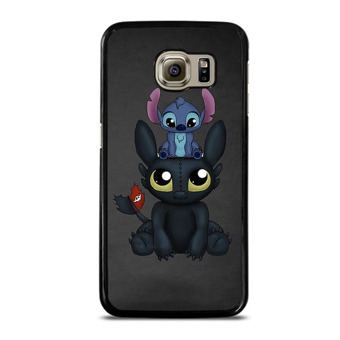 TOOTHLESS AND STITCH Samsung S6 Case