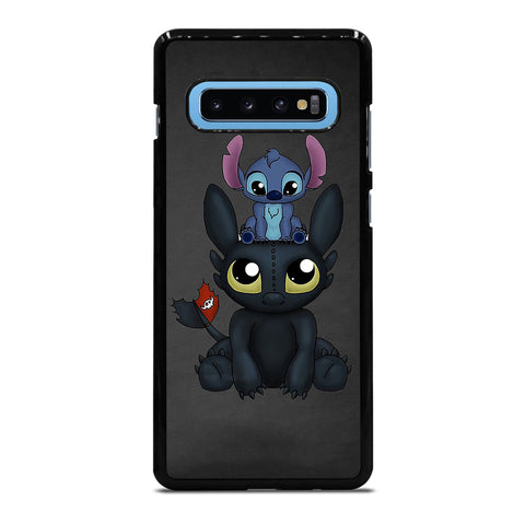 TOOTHLESS AND STITCH Samsung S10 Plus Case