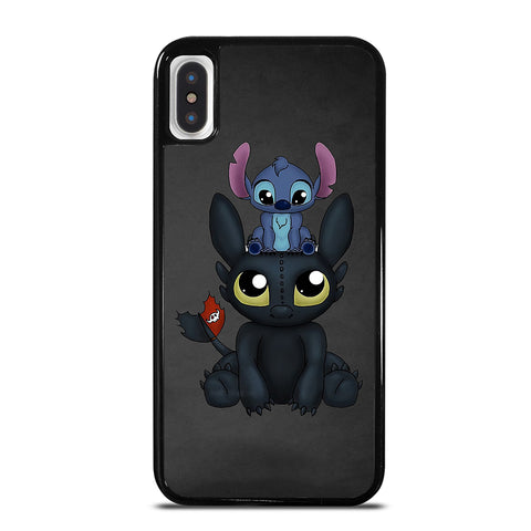TOOTHLESS AND STITCH iPhone X / XS Case