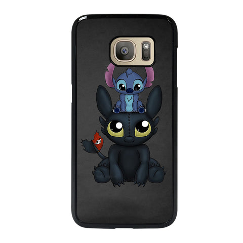 TOOTHLESS AND STITCH Samsung S7 Case