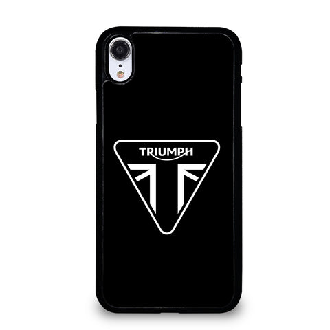 TRIUMPH LOGO MOTORCYCLE iPhone XR Case