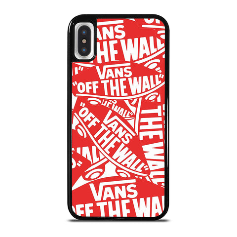 VANS OFF THE WALL iPhone X / XS Case