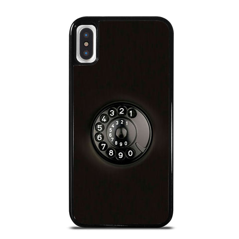 VINTAGE ROTARY DIAL iPhone X / XS Case
