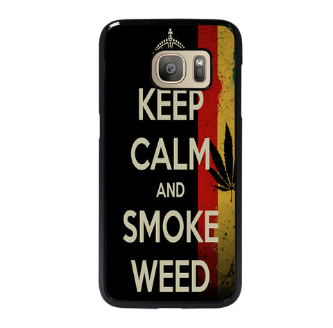 WEED MARIJUANA QUOTES 2 Samsung S7 Case