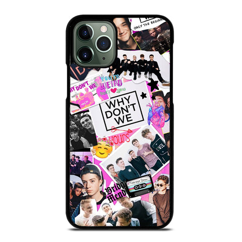 WHY DON'T WE COLLAGE 3 iPhone 11 Pro Max Case