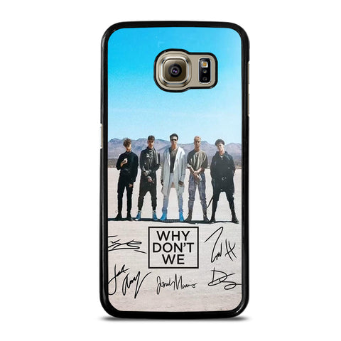 WHY DON'T WE SIGNATURE Samsung S6 Case